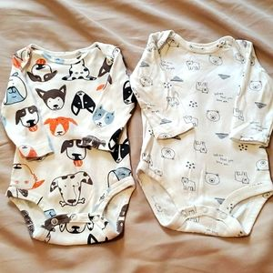 Carter's Onesies size 3 months